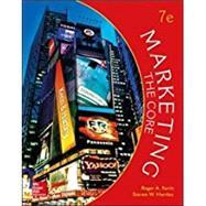 Marketing: The Core,Kerin, Roger; Hartley, Steven,9781259712364