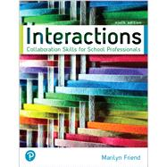 Interactions: Collaboration...,Friend, Marilyn,9780135752388