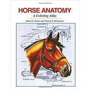 Horse Anatomy by Kainer, Robert A.; McCracken, Thomas O., 9781617812408