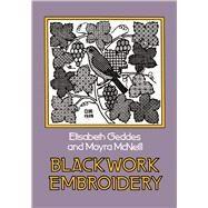Blackwork Embroidery,Geddes, Elizabeth; McNeill,...,9780486232454