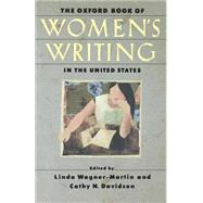 The Oxford Book of Women's...,Wagner-Martin, Linda;...,9780195132458
