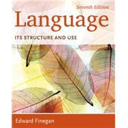 Language,Finegan,9781285052458