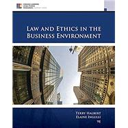 Law and Ethics in the...,Halbert, Terry; Ingulli,...,9781305972490