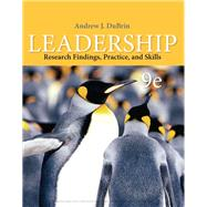 Leadership Research Findings, Practice, and Skills by DuBrin, Andrew J., 9780357042496