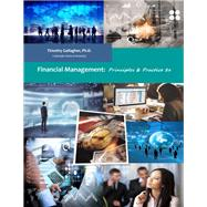 Financial Management (Black&White Paperback + Online eBook) by Gallagher, Timothy J., 9781732242500