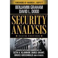 Security Analysis: Sixth Edition, Foreword by Warren Buffett by Graham, Benjamin; Dodd, David, 9780071592536