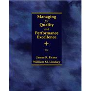 Managing for Quality and...,Evans, James R.; Lindsay,...,9781305662544