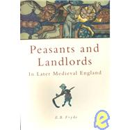 Peasants and Landlords in...,Fryde, E. B.,9780750922555
