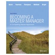 Becoming a Master Manager: A...,Quinn,9781118582589
