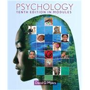 Psychology : In Modules,Myers, David G.,9781464102615