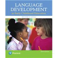 Language Development in Early...,Otto, Beverly W.,9780134552620