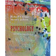 Psychology: A Concise...,Griggs, Richard A.; Jackson,...,9781319122621