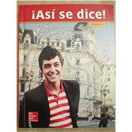 Asi se dice! Level 2, Student...,McGraw-Hill Education,9780021412648