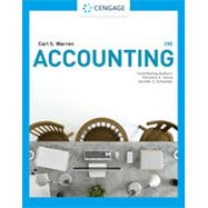 Accounting, 28th Edition,Warren, Carl S.; Reeve, James...,9781337902687