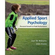 Applied Sport Psychology:...,Williams, Jean; Krane, Vikki,9780078022708
