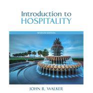 Introduction to Hospitality...,John R. Walker,9780133762761