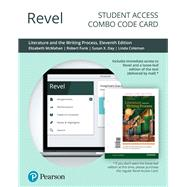 Revel for Literature and the Writing Process -- Combo Access Card by McMahan, Elizabeth; Day, Susan X; Funk, Robert; Coleman, Linda, 9780135202814