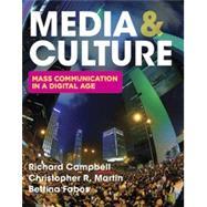 Media & Culture An...,Campbell, Richard; Martin,...,9781319102852
