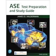 ASE Test Prep and Study Guide by Halderman, James D., 9780135232866