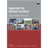Agenda for Social Justice by Muschert, Glenn W.; Klocke, Brian V.; Perrucci, Robert; Shefner, Jon, 9781447332886