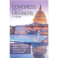 Congress and Its Members by Davidson, Roger H.; Oleszek, Walter J.; Lee, Frances E.; Schickler, Eric, 9781544322957