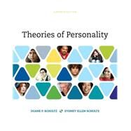Theories of Personality,Schultz, Duane P.; Schultz,...,9781305652958
