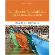 Fundamental Statistics for...,Howell, David C.,9781305652972