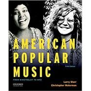 American Popular Music From...,Starr, Larry; Waterman,...,9780190632991