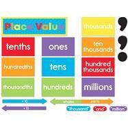 Understanding Place Value Mini Bulletin Board Set by Carson-Dellosa Publishing Company, Inc., 9781483853017