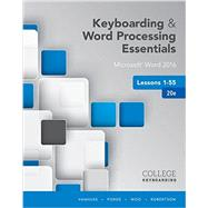 Keyboarding and Word...,Vanhuss, Susie H.; Forde,...,9781337103022