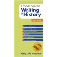 A Pocket Guide to Writing in...,Rampolla, Mary Lynn,9781319113025
