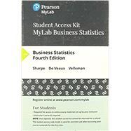 MyLab Statistics with Pearson...,Sharpe, Norean R.; De Veaux,...,9780134783031