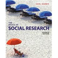 The Basics of Social Research,Babbie, Earl R.,9781305503076