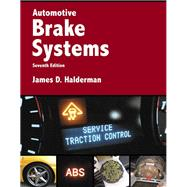 Automotive Brake Systems,Halderman, James D.,9780134063126