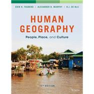 Human Geography: People,...,Fouberg,9781118793145