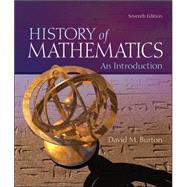 The History of Mathematics:...,Burton, David,9780073383156