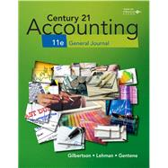 Print Working Papers, Chapters 1-17 for Century 21 Accounting General Journal by Gilbertson, 9781337623230