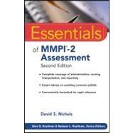 Essentials of MMPI-2...,Nichols, David S.; Kaufman,...,9780470923238