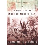 A History of the Modern...,Anderson, Betty S.,9780804783248