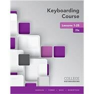Keyboarding Course Lessons...,Vanhuss, Susie H.; Forde,...,9781337103251