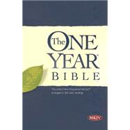 The One Year Bible,Tyndale House Publishers,9781414363264