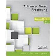 Advanced Word Processing...,Vanhuss, Susie H.; Forde,...,9781337103268