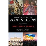A Concise History of Modern...,Mason, David S.,9781538113271