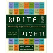 Write Right!,Venolia, Jan,9781580083287