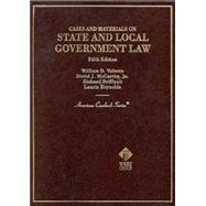 Cases and Materials on State and Local Government Law by Valente, William D.; McCarthy, David J.; Briffault, Richard; Reynolds, Laurie; Valente, William D.; Valente, William D.  Local Government Law, 9780314233288