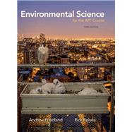 Environmental Science for the...,Friedland, Andrew; Relyea,...,9781319113292