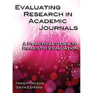 Evaluating Research in...,Fred Pyrczak,9781936523344