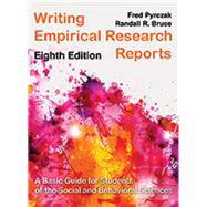 Writing Empirical Research...,Fred Pyrczak and Randall R....,9781936523368