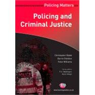 Policing and Criminal Justice by Christopher Blake, 9781844453450