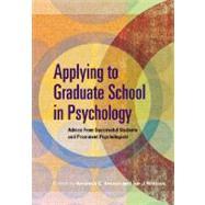 Applying to Graduate School...,Kracen, Amanda C.,9781433803451